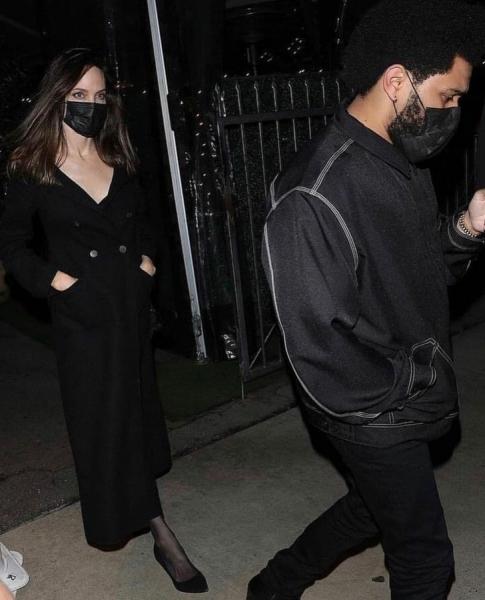 Анджелина Джоли и The Weeknd подтверждают слухи о своем романе. Очередное сенсационное свидание пары