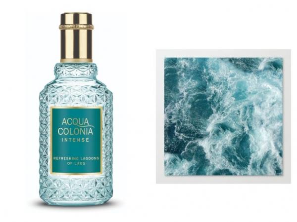 Blue fall: аромат с запахом голубой лагуны, который мысленно перенесет вас в лето