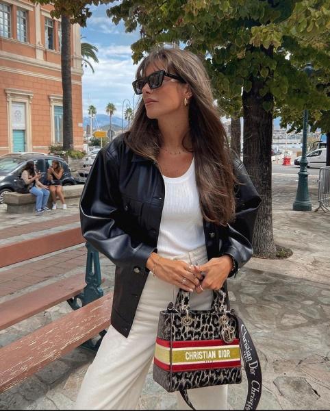 Что носят француженки в начале осени? Модный пример Жюли Феррери