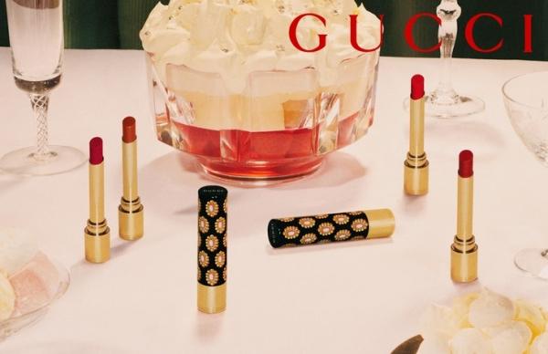 Как выглядят 3 самых осенних оттенка помад Gucci