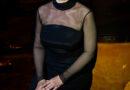 Подобна греческой диве: завораживающая Моника Беллуччи в черном прозрачном платье-футляре