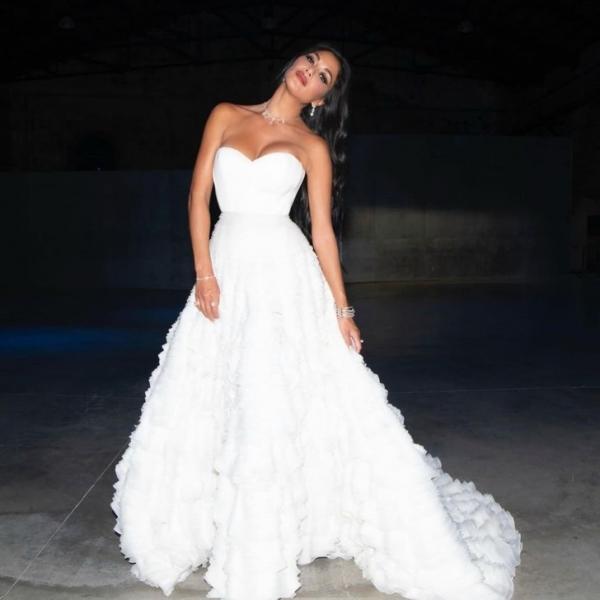 Сбежавшая невеста: Николь Шерзингер в кутюрном платье Tony Ward