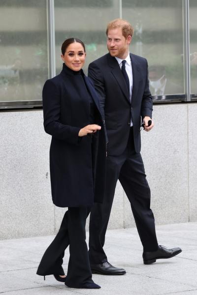 Шпионские игры: Меган Маркл и принц Гарри в Нью-Йорке