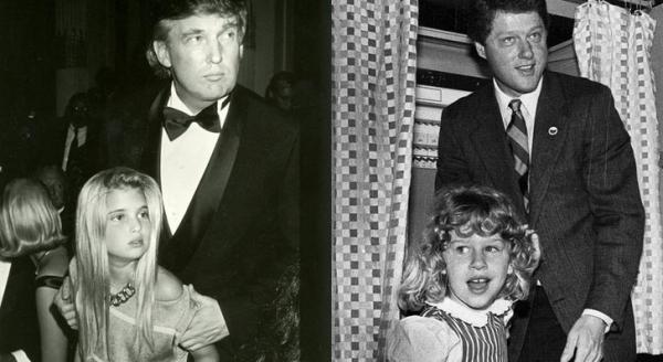 Такие разные: Иванка Трамп и Челси Клинтон
