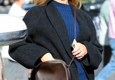 Беременная Дженнифер Лоуренс показывает самое модное платье этой осени