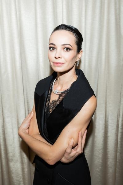 Диана Вишнева на закрытии фестиваля «Context.Diana Vishneva». Как всегда— в бриллиантах Cartier