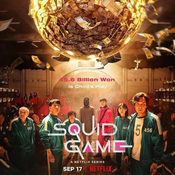 Маникюр для тех, кому понравился новый корейский сериал «Игра в кальмара»