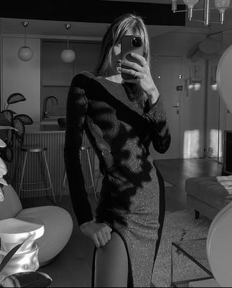 Платье для особого случая: француженка Жюли Феррери показала беспроигрышный вариант